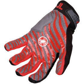 Castelli CW 6.0 Cross Gloves Herren black/red